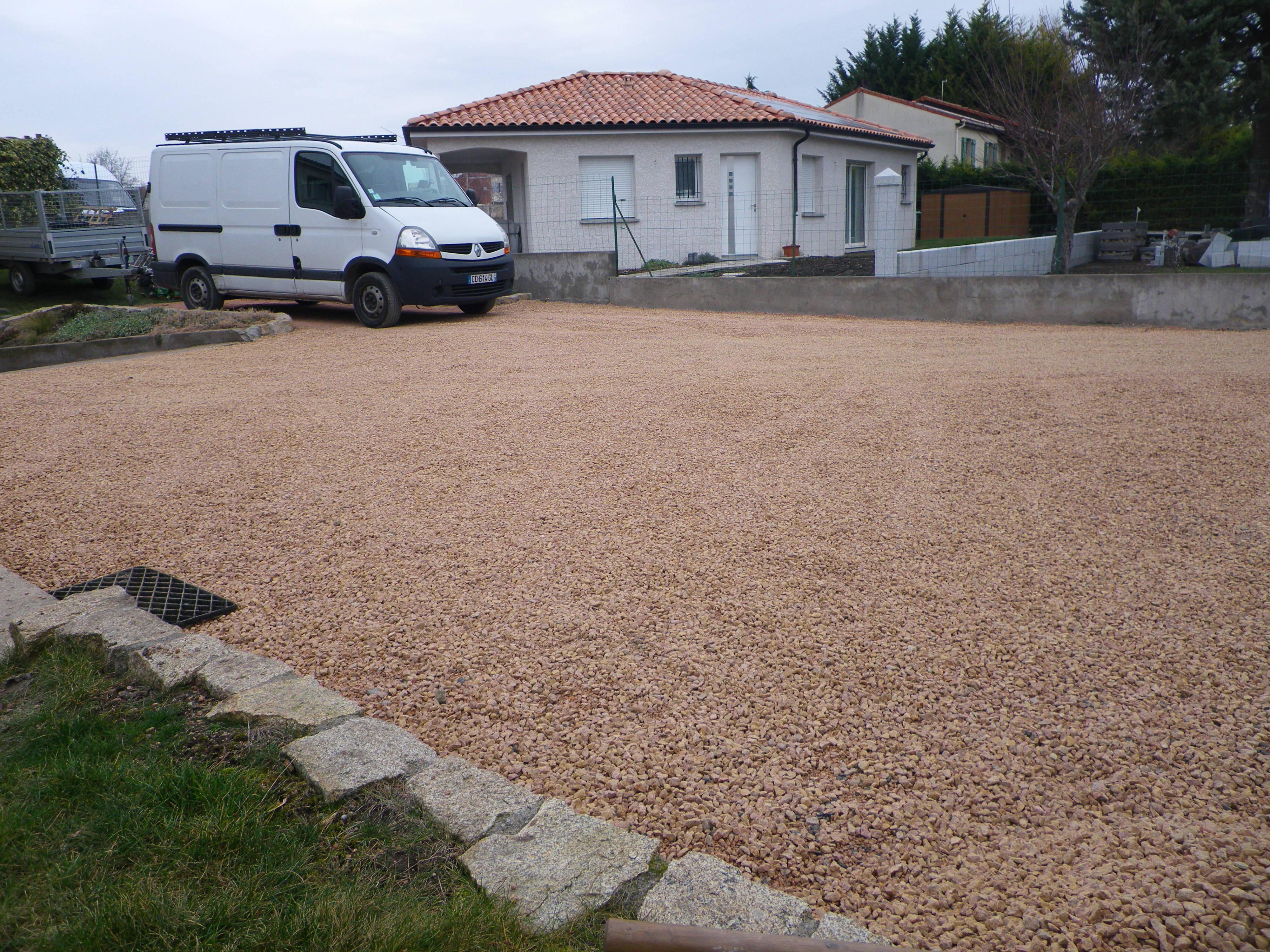 Gravier garden concept for Gravier cour exterieure prix